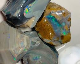 Hi Potential Multi Colour Opal Rough