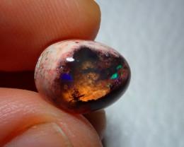 4.54ct Top Natural Mexican Matrix Cantera Multicoloured Fire Opal