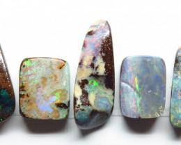 27.94ct Queensland Boulder Opal 5 Stone Parcel