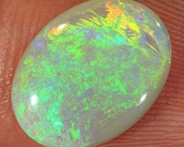 2.6ct 14x10.5mm Solid Lightning Ridge Dark Opal [LO-2338]