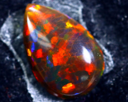 1.30cts Natural Ethiopian Smoked Black Opal / HM172