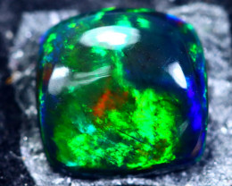 1.61cts Natural Ethiopian Smoked Black Opal / HM175