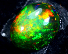 1.95cts Natural Ethiopian Smoked Black Opal / HM178
