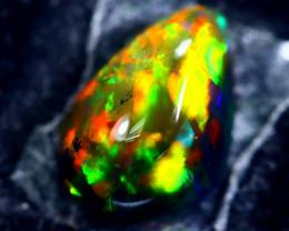 1.73cts Natural Ethiopian Smoked Black Opal / HM162
