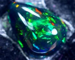 1.71cts Natural Ethiopian Smoked Black Opal / HM165