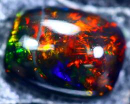 1.21cts Natural Ethiopian Smoked Black Opal / BF1893