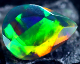 1.03cts Natural Ethiopian Smoked Black Opal / BF1894