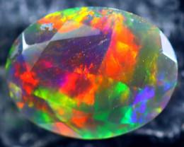 0.96cts Natural Ethiopian Smoked Black Opal / BF1897