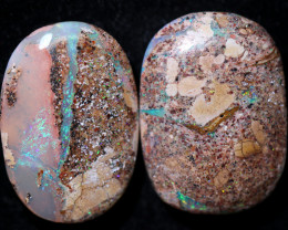 $35 PER STONE 30.70 CTS BOULDER PIPE CRYSTAL - [FJP3567]