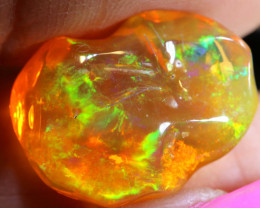9.30 CTS MEXICAN FIRE OPAL FREEFORM    STONE  FOB -2084