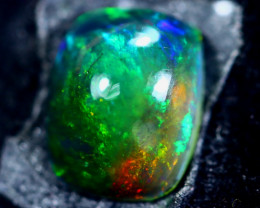 1.28cts Natural Ethiopian Smoked Black Opal / HM182