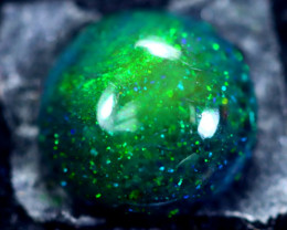 1.39cts Natural Ethiopian Smoked Black Opal / HM193
