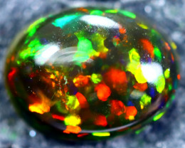 1.21cts Natural Ethiopian Smoked Black Opal / HM196