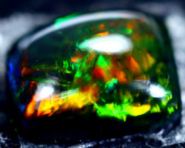 1.80cts Natural Ethiopian Smoked Black Opal / HM199
