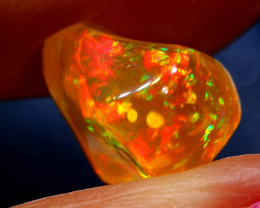 3.85 CTS MEXICAN FIRE OPAL STONE  FOB -2092