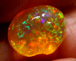 2.95 CTS MEXICAN FIRE OPAL STONE  FOB -2098
