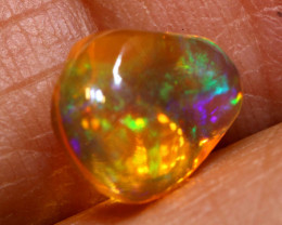 1.65 CTS MEXICAN FIRE OPAL STONE  FOB -2114
