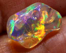 2.90 CTS MEXICAN FIRE OPAL STONE  FOB -2119