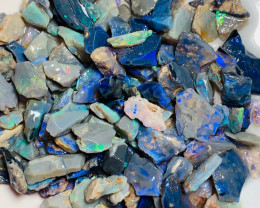 250 CTs of Black Opal Rough - Small Pieces