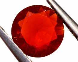 0.72 CTS MEXICAN FIRE OPAL FACETED STONE  FOB -2142