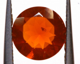 0.83 CTS MEXICAN FIRE OPAL FACETED STONE  FOB -2150