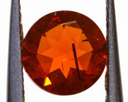 0.54 CTS MEXICAN FIRE OPAL FACETED STONE  FOB -2151