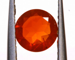 0.58 CTS MEXICAN FIRE OPAL FACETED STONE  FOB -2154
