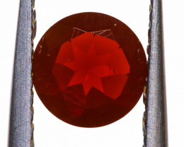 0.53 CTS MEXICAN FIRE OPAL FACETED STONE  FOB -2166