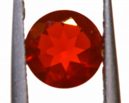 0.57 CTS MEXICAN FIRE OPAL FACETED STONE  FOB -2168