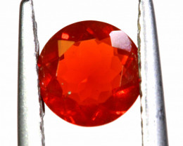 0.50 CTS MEXICAN FIRE OPAL FACETED STONE   FOB -2183