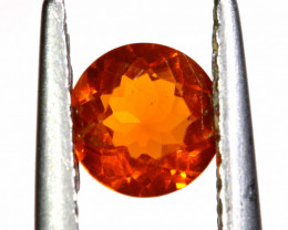 0.36 CTS MEXICAN FIRE OPAL FACETED STONE   FOB -2188