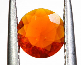 0.36 CTS MEXICAN FIRE OPAL FACETED STONE   FOB -2189