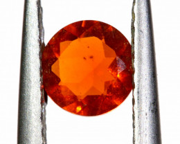 0.34 CTS MEXICAN FIRE OPAL FACETED STONE   FOB -2190