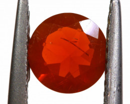 0.53 CTS MEXICAN FIRE OPAL FACETED STONE   FOB -2193