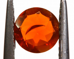 0.46 CTS MEXICAN FIRE OPAL FACETED STONE   FOB -2194