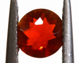 0.40 CTS MEXICAN FIRE OPAL FACETED STONE   FOB -2197