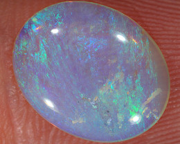 2ct 12.5x10mm Solid Lightning Ridge Crystal Opal [LO-2351]