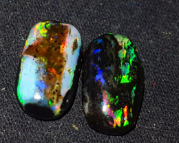 10.00 CRT BROADFLASH COLOR SPECIMENT INDONESIAN OPAL WOOD FOSSIL