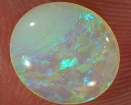 1.5ct 10x9mm Solid Lightning Ridge Crystal Opal [LO-2361]