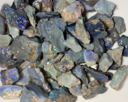 1000 CTS DARK ROUGH OPALS TO GAMBLE #427