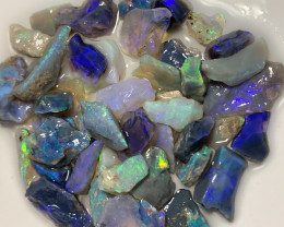 BRIGHT ROUGH OPALS - 70 CTS #428