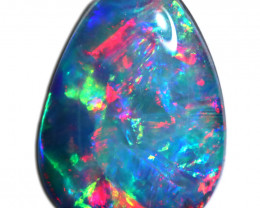 1.30 CTS OPAL SHELL FOSSIL DOUBLET   [SEDA7237]