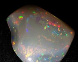 55 CTS Beatifull brazilian white opal cut freeform
