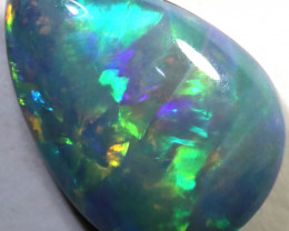 2.10 CTS OPAL SHELL FOSSIL DOUBLET   [SEDA7245]