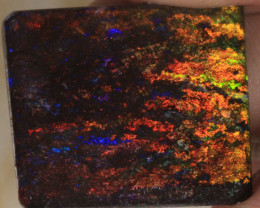 NO RESERVE!! 1#  -  Andamooka Matrix Opal Rough [27833] 53FROGS