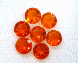 1.16 CTS MEXICAN FIRE OPAL FACETED STONE PARCEL  FOB -2222