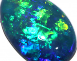 2.20 CTS OPAL SHELL FOSSIL DOUBLET   [SEDA7247]