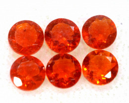 0.89 CTS MEXICAN FIRE OPAL FACETED STONE PARCEL  FOB -2226