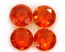 1.15 CTS MEXICAN FIRE OPAL FACETED STONE PARCEL  FOB -2234
