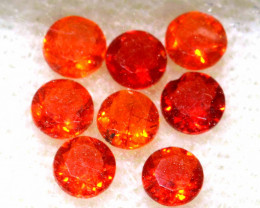 0.61 CTS MEXICAN FIRE OPAL FACETED STONE PARCEL  FOB -2244